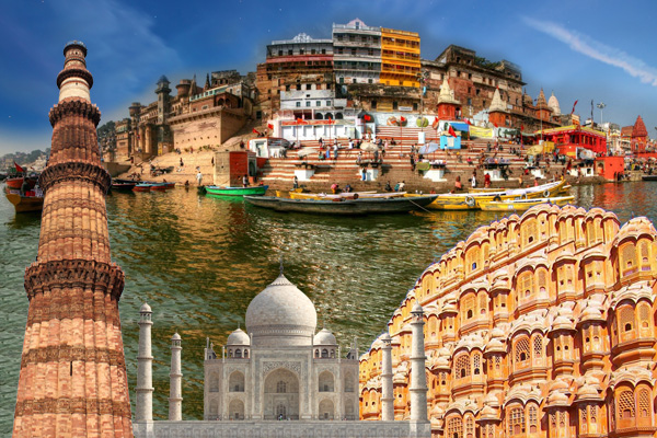 Golden Triangle with Varanasi 6 Nights 7 Days